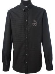 рубашка в горох Dolce & Gabbana