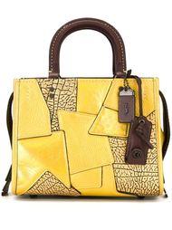 лоскутная сумка-тоут Coach