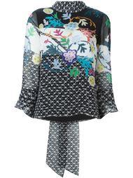 блузка с цветочным принтом  Peter Pilotto
