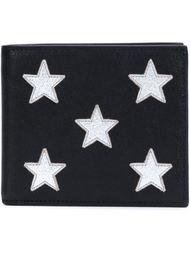 кошелек с тиснеными звездами  Saint Laurent