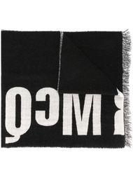 шарф дизайна колор-блок McQ Alexander McQueen