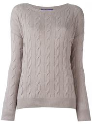 cable knit sweater Ralph Lauren