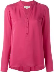 блузка с воротником-стойкой  Michael Michael Kors
