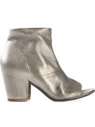 ботинки по щиколотку с открытым носком Settima