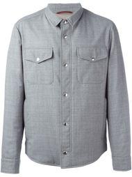 классическая рубашка-куртка Brunello Cucinelli