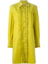 платье-рубашка с отделкой из рюшей Antonio Marras