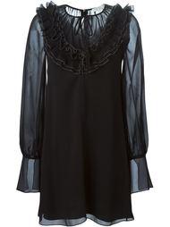 прозрачное платье Chloé