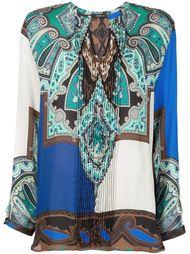 плиссированная блузка Etro