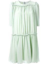 плиссированное платье Chloé