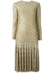 платье с пайетками Christian Dior Vintage