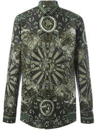 рубашка с принтом 'Carretto Siciliano' Dolce & Gabbana