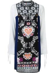 платье-шифт с принтом MSGM