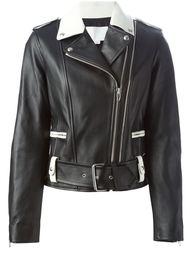 байкерская куртка с поясом  Alexander Wang