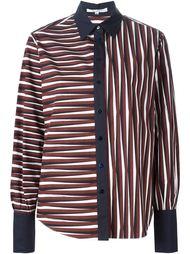 рубашка с узором в полоску Carven