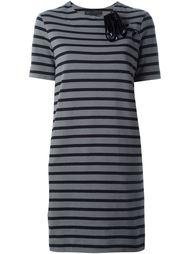 полосатое платье с короткими рукавами Marc By Marc Jacobs