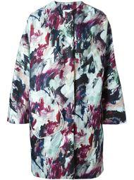 пальто с красочным принтом Carven