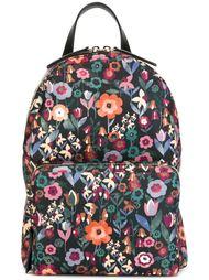 рюкзак с цветочным принтом Red Valentino