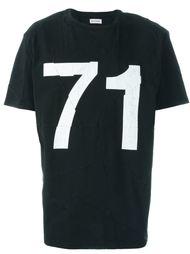футболка с принтом '71' Palm Angels