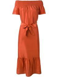 платье с открытыми плечами  Tory Burch