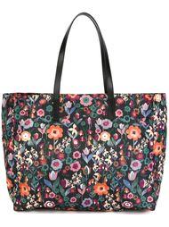 сумка-тоут с цветочным принтом Red Valentino
