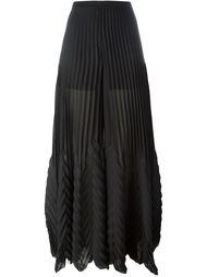 плиссированные брюки MSGM