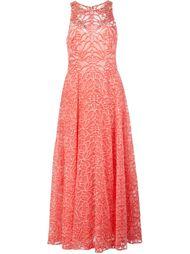 декорированное платье  Marchesa Notte
