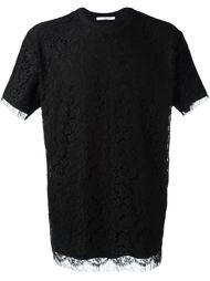футболка с кружевными деталями  Givenchy