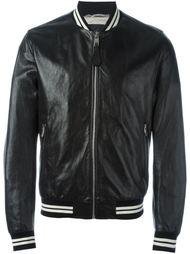 куртка-бомбер с деталями в полоску Dolce & Gabbana