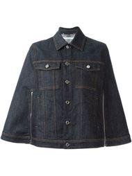джинсовая куртка-накидка Givenchy