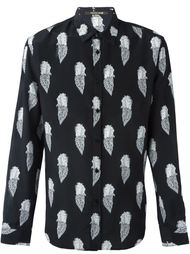 рубашка с принтом Пегасов Roberto Cavalli