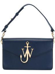 сумка на плечо с бляшкой-логотипом J.W.Anderson