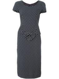юбка с топом в горох Moschino Vintage