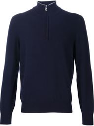 свитер с горловиной на молнии Brunello Cucinelli