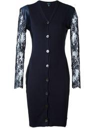 платье с кружевными рукавами Jean Paul Gaultier Vintage