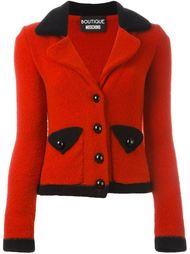 укороченный трикотажный пиджак Boutique Moschino