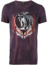 футболка с принтом 'Pegasus' Roberto Cavalli