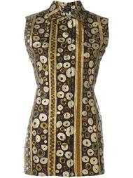 рубашка без рукавов с принтом Jean Paul Gaultier Vintage