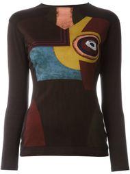 свитер 'Richard Linder' 1990 Jean Paul Gaultier Vintage