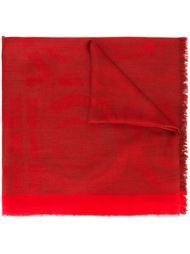 жаккардовый шарф 'Gancio' Salvatore Ferragamo
