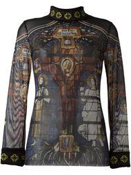 свитер с принтом Jean Paul Gaultier Vintage