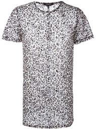 сетчатая футболка с леопардовым принтом Unconditional