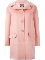 укороченное пальто с пуговичной застежкой Boutique Moschino