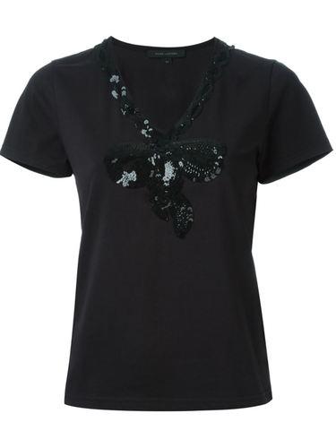 футболка с бантом Marc Jacobs