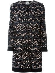 пальто с леопардовым принтом   M Missoni