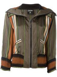 куртка-бомбер в полоску Jean Paul Gaultier Vintage
