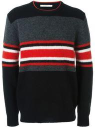 свитер с контрастными полосками   Givenchy