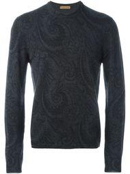 свитер с узором пейсли  Etro