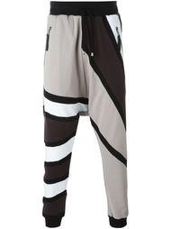 спортивные брюки с контрастными панелями Unconditional