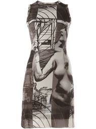 платье с принтом Jean Paul Gaultier Vintage