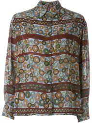 рубашка с принтом 'Circle' Jean Paul Gaultier Vintage
